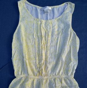 women's yellow and white blouse size medium by ken